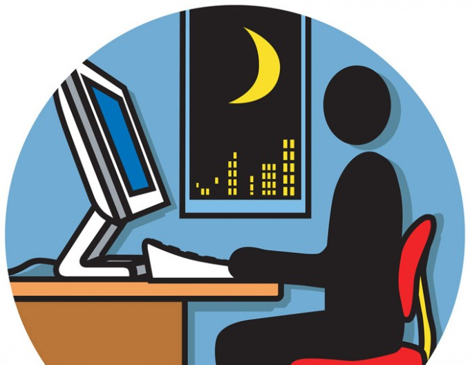 working in night shifts
