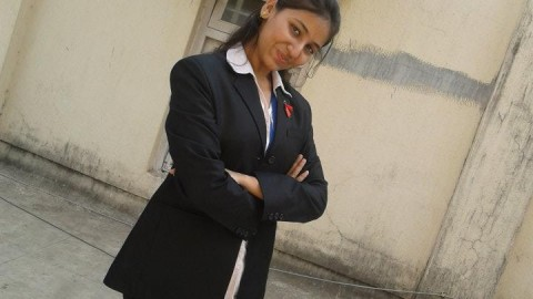 """""""People will remember you by your deeds but not by your name"""" says Mehekka Oberoi, Podar College TYBMS Topper 2013"""