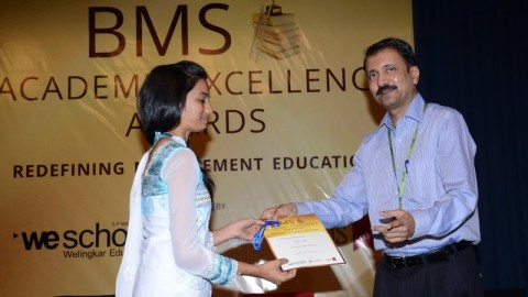 Felicitation of Richa J. Patel, Reena Mehta College TYBMS Sem 5 Topper 2013