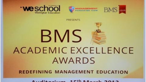 BMS Academic Excellence Awards 2013 – Redefining Management Education
