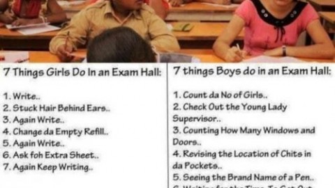 Top 10 crazy and funny things to do in Exam hall