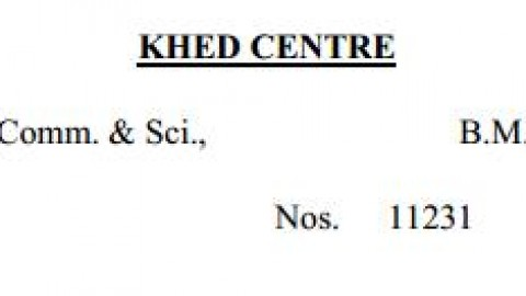 TYBMS Sem 5 Exams 2013 – Khed Centre for Seat Nos. 11231 to 11251