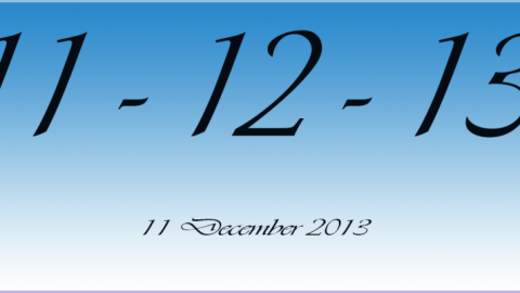 Why is 11-12-13 an unusual date?