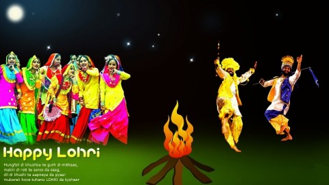 15 Amazingly Beautiful Happy Lohri 2014 Images, Greetings And Wallpapers