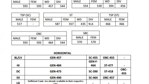 RPSC Cut-off Of RAS Main 2013 Results Declared On 27th January 2014