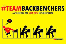 Love those backbenches and the responsibility to be naughty that comes along with it!