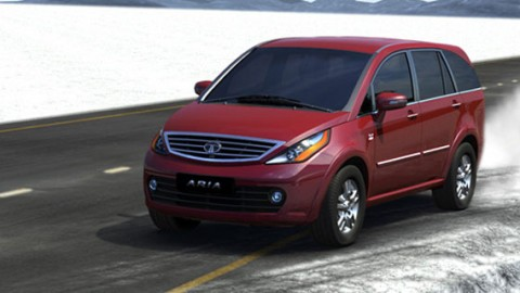 New Tata Aria Facelift 2014 Launched in India @ ₹9.95 lakhs
