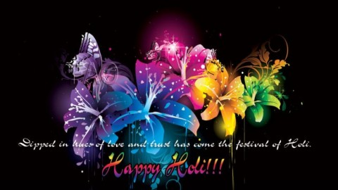 Top 5 Cute Awesome Colorful Happy Holi 2014 Shayari, SMS, Quotes, Messages In Malayalam For Facebook and WhatsApp