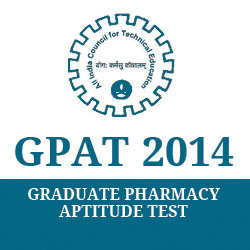 AICTE GPAT Results to be declared on 15th March 2014