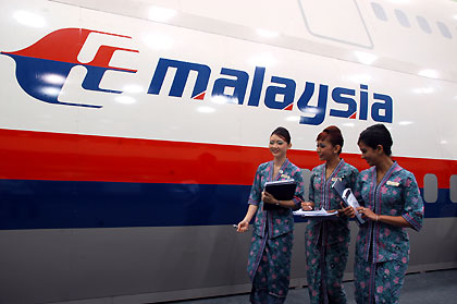Malaysia Airline MH370