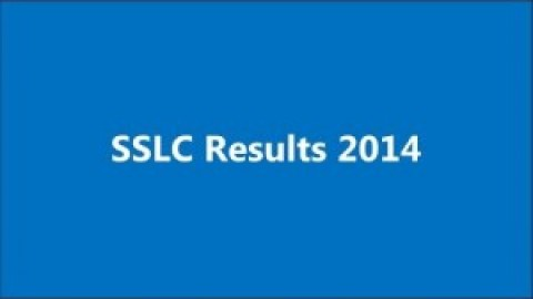 Tamil Nadu SSLC 10th Result announced on 23 May 2014 at 10am