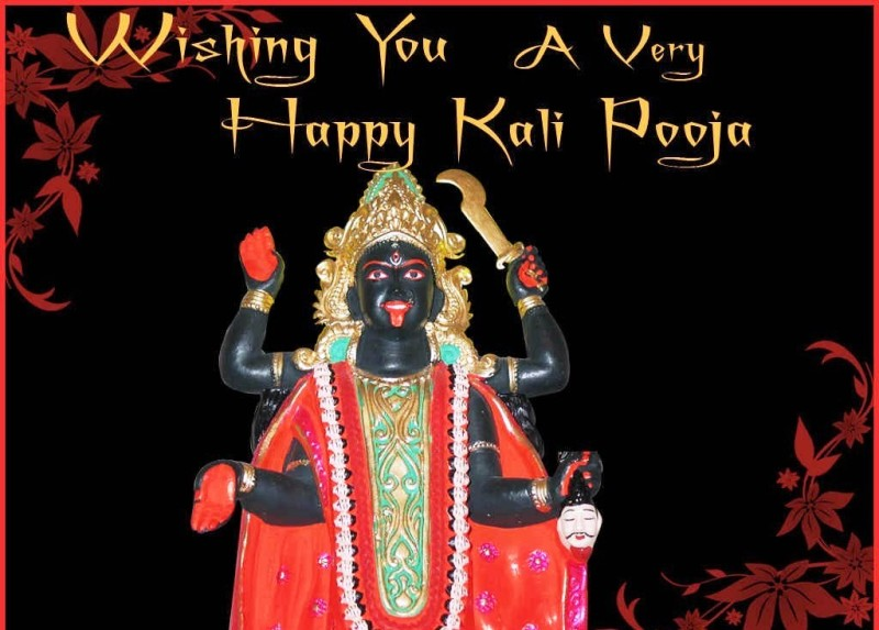 Happy Phalaharini Kali Puja 2014 HD Wallpapers, Images, Wishes For Facebook, WhatsApp