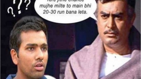 7 of the best Rohit Sharma Memes Going Viral on WhatsApp, Facebook, Twitter