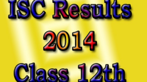 Toppers of ISC Class XII Results 2014