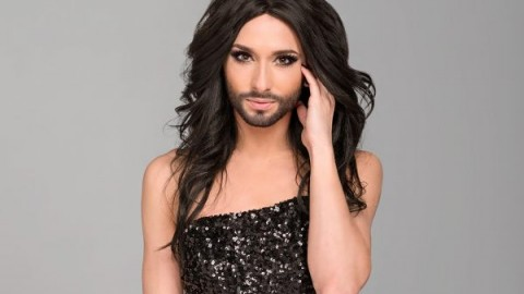 25 year old Conchita Wurst became Austri's first Eurovision