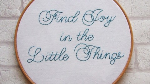 How to find Joy in lil things?