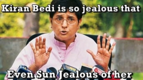 8 Latest Funniest Kiran Bedi Trolls, Memes, Jokes Trending On WhatsApp