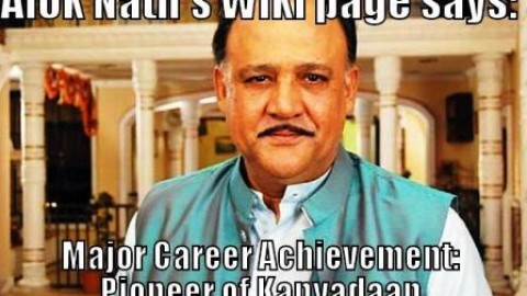 5 Most Awesome Hilarious Alok Nath Trolls, Jokes, Memes, Pictures For Facebook & WhatsApp