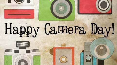 Happy Camera Day 2014 HD Images, Greetings, Wallpapers Free Download