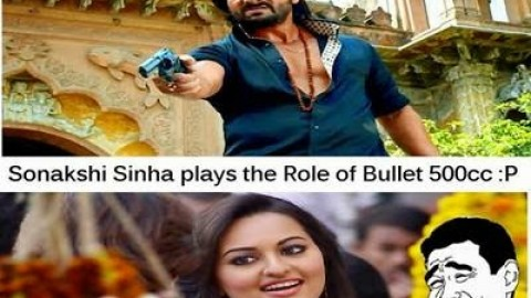 5 Most Awesome Hilarious Sonakshi Sinha Trolls, Jokes, Memes, Pictures For Facebook & WhatsApp