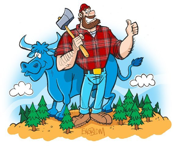 Happy Paul Bunyan Day 2014 SMS, Sayings, Quotes, Text Messages, Status For Facebook, WhatsApp Messages