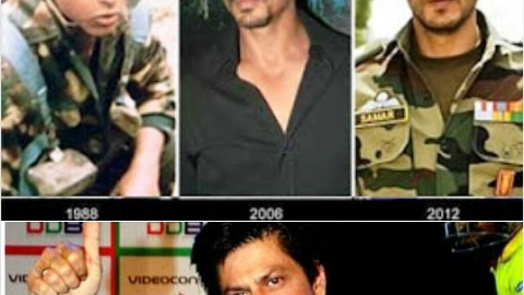SRK Top 10 Moments From Fauji To IPL7 2014