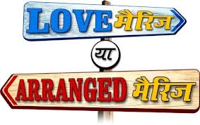 Compare love marriage and arranged marriage essay task 2