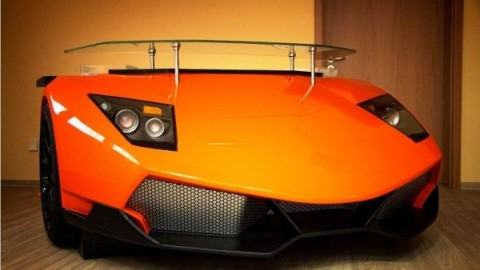 Love Lamborghini? Make It Your Desk!