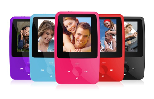 portable music and video player