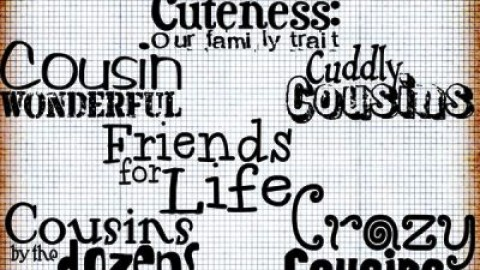 Happy Cousin's Day 2014 HD Wallpapers, Images, Wishes For Pinterest, Instagram