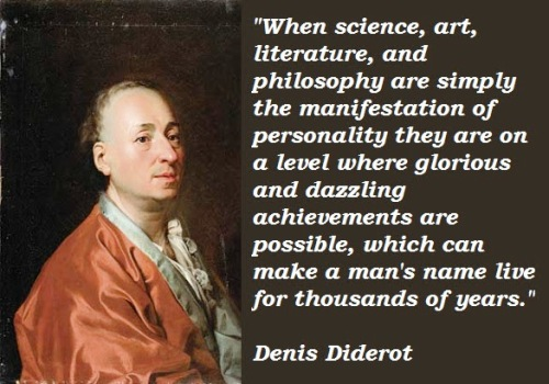 Diderot Quotes French Quotes of Denis Diderot