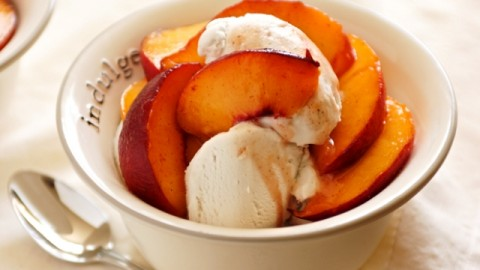 Happy Peach Ice Cream Day 2014 HD Images, Wallpapers For Whatsapp, Facebook