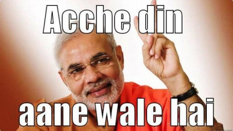 "10 Most Awesome Hilarious ""Acche Din Aane wale Hai"" Trolls, Jokes, Memes, Pictures For Facebook & WhatsApp"