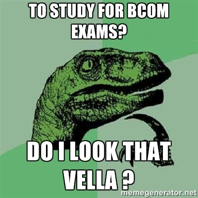 bcom exam joke