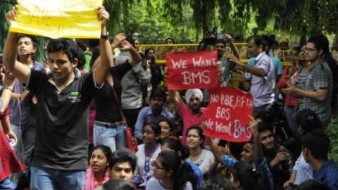 Delhi University asked to retain BMS and make it three-year course
