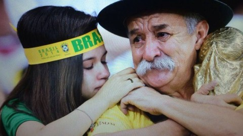Meet The Saddest Man Of The FIFA World Cup 2014 In Brazil