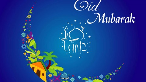 Eid ul Fitr SMS, Messages, Wishes 2014