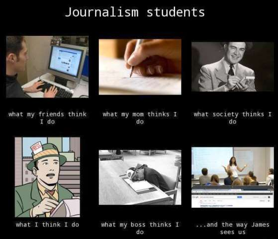 journalism students