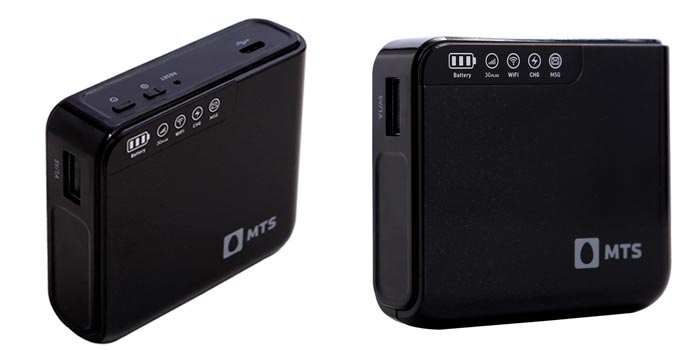 Charges Your Smartphone Up To 3 Times: MTS Mblaze Power Wi-Fi
