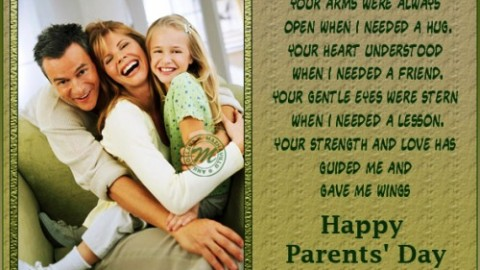Parents Day 2014 Quotes and Sayings In English