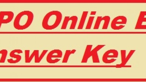 SBI PO Answer Key 2014 to be released soon!