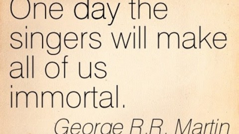 7 Famous Quotes of George R. R. Martin