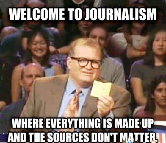 welcome to journalism