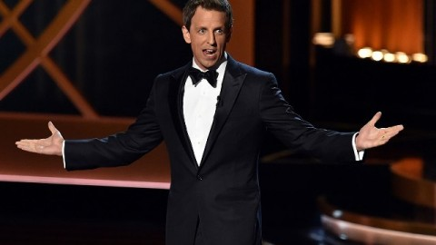 11 Emmy Host Seth Meyers' Funniest Jokes Trending on Facebook, Twitter