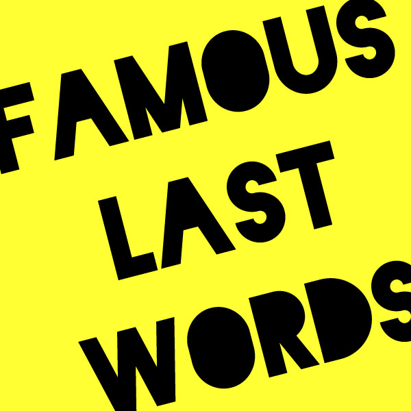 Famous-Last-Words-logo-yellow-jaunty-angle