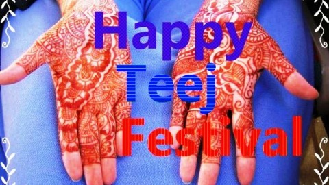 2014 Teej / Hariyali Teej Facebook Greetings, WhatsApp HD Images, Wallpapers