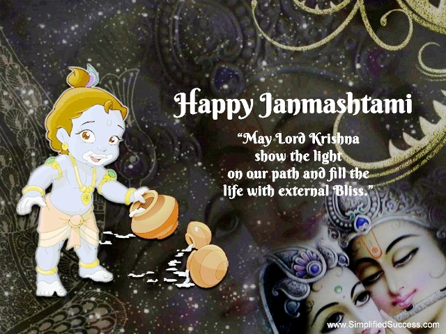 Happy Janmashtami 2014 HD Wallpapers, Images, Wishes For Pinterest, Instagram
