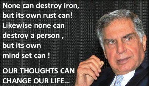10 Notable Ratan Tata Quotes Bms Co In
