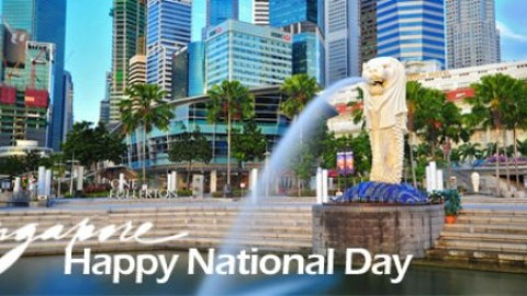 Happy Singapore National Day 2014 HD Images, Greetings, Wallpapers Free Download