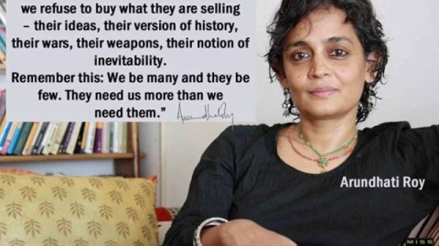 7 Famous 'Arundhati Roy' Quotes (Author of The God of Small Things)